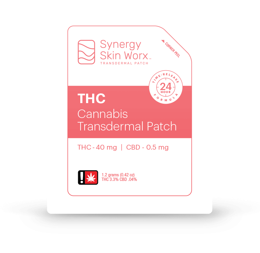 Synergy Skin Worx THC Cannabis Transdermal Patch